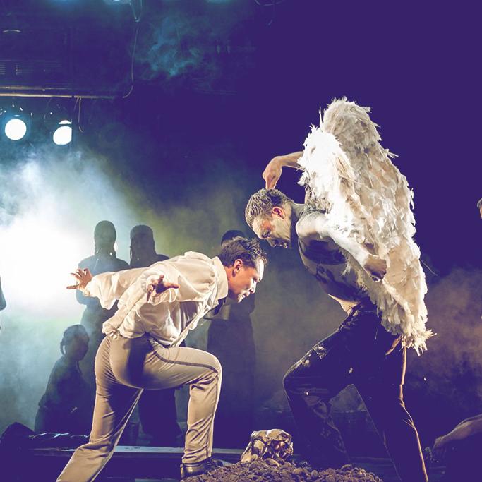 Гастроли Государственного национального русского театра драмы им. Чингиза Айтматова в ЦДР